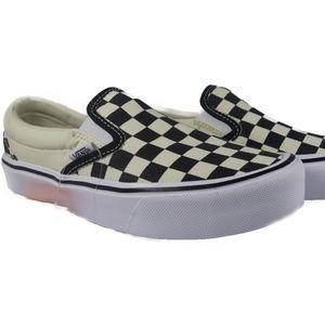 VANS Slip-On Lite Checkerboard (Black / White)